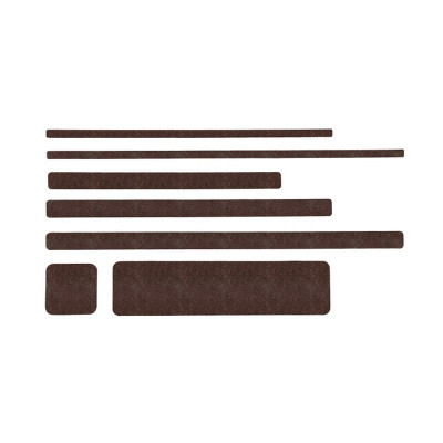 Non Slip Brown Floor Sheets (10 Pack)