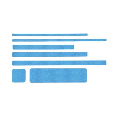 Non Slip Blue Floor Sheets (10 Pack)