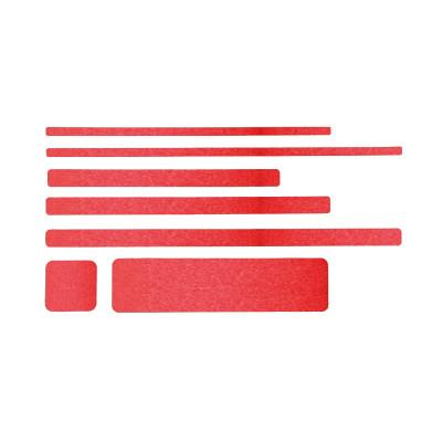 Non Slip Red Floor Sheets (10 Pack)