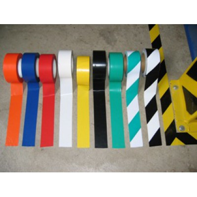 50mm Black Floor Marking Tape