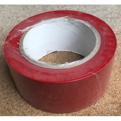50mm Red Floor Marking Tape