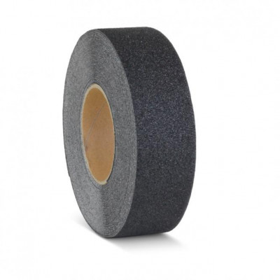Anti Slip 25mm Black Floor tape